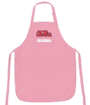 Ole Miss Grandma Apron Pink - MADE in the USA!