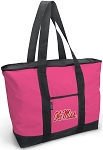Deluxe Pink Ole Miss Tote Bag