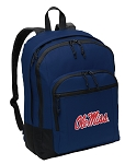 Ole Miss Backpack Navy