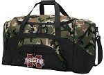 Official Mississippi State University Camo Duffel Bags