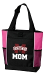 Mississippi State Mom Tote Bag Pink