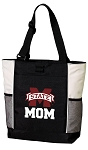 Mississippi State Mom Tote Bag White Accents