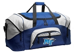 Middle Tennessee Duffle Bag or MT Gym Bags Blue
