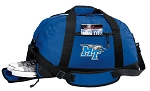 Middle Tennessee Gym Bag - Middle Tennessee Duffel BAG with Shoe Pocket Blue