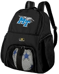 Middle Tennessee Soccer Backpack or MT Volleyball Bag For Boys or Girls