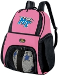 Girls Middle Tennessee Soccer Backpack or MT Volleyball Bag
