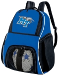 Middle Tennessee Soccer Backpack or MT Volleyball Practice Bag Boys or Girls Blue