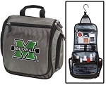 Marshall University Toiletry Bag or Shaving Kit Gray