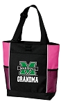 Marshall University Grandma Tote Bag Pink