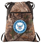 RealTree Camo US NAVY Cinch Pack