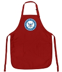 Official US NAVY Logo Aprons