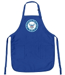 Deluxe United States Navy Apron US NAVY Logo for Men or Women