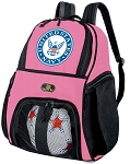 Girls US NAVY Soccer Backpack or United States Navy Volleyball Bag