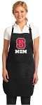 Official NC State Mom Apron Black