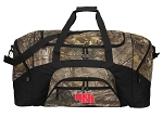 Large University of Nebraska Duffle Bag REALTREE CAMO Nebraska Huskers Duffel