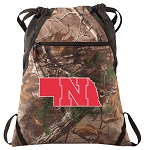 RealTree Camo University of Nebraska Cinch Pack