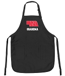 Deluxe Nebraska Grandmother Apron Black