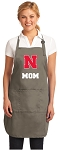 University of Nebraska Mom Deluxe Apron Khaki