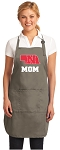 Deluxe Nebraska Mother Apron Khaki