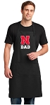 University of Nebraska Dad Large Apron