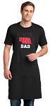 LARGE Nebraska Dad APRON for MEN or Women