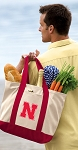 Nebraska Huskers Tote Bag Red