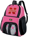 Nebraska Huskers Girls Soccer Backpack