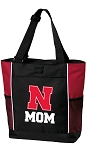 University of Nebraska Mom Tote Bag Red