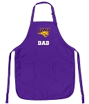 Deluxe University of Northern Iowa Dad Apron MADE in the USA!