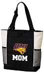 University of Northern Iowa Mom Tote Bag White Accents