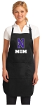Official Northwestern University Mom Apron Black