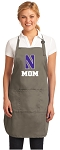 Official Northwestern Mom Apron Tan