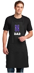 Northwestern University Dad Large Apron