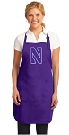 Deluxe Northwestern University Apron MADE in the USA!