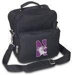 Northwestern University Small Utility Messenger Bag or Travel Bag