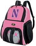Girls Northwestern Soccer Backpack or NU Wildcats Volleyball Bag