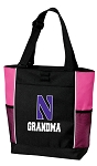 Northwestern University Grandma Tote Bag Pink