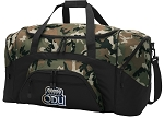 Official Old Dominion University Camo Duffel Bags