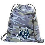 Old Dominion Drawstring Backpack Blue Camo