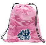 Old Dominion Drawstring Backpack Pink Camo