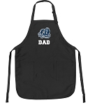 Official Old Dominion University Dad Apron Black