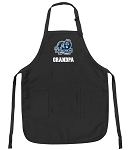 Official Old Dominion University Grandpa Apron Black