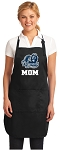 Official Old Dominion University Mom Apron Black