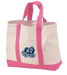 Old Dominion University Tote Bags Pink