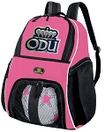 Girls Old Dominion University Soccer Backpack or ODU Volleyball Bag