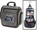 ODU Toiletry Bag or Old Dominion University Shaving Kit Organizer for Him Gray