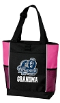 Old Dominion University Grandma Tote Bag Pink