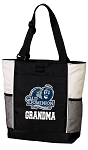 Old Dominion University Grandma Tote Bag White Accents