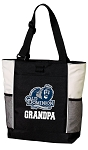 Old Dominion University Grandpa Tote Bag White Accents