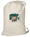 Ohio Bobcats Laundry Bag Natural